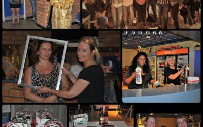 Vijfde 'Pink Ladies Night' bij S.V. Loosduinen was opnieuw groot succes!
