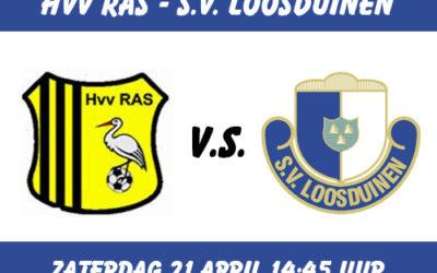 Voorbeschouwing RAS 1 – S.V. Loosduinen 1, zaterdag 21 april 2018
