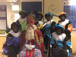 Sinterklaas op bezoek bij S.V. Loosduinen