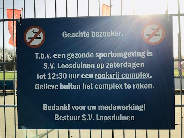 Op naar een rookvrije sportvereniging