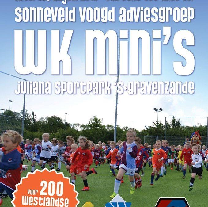 Westlands kampioenschap mini's bij FC 's-Gravenzande