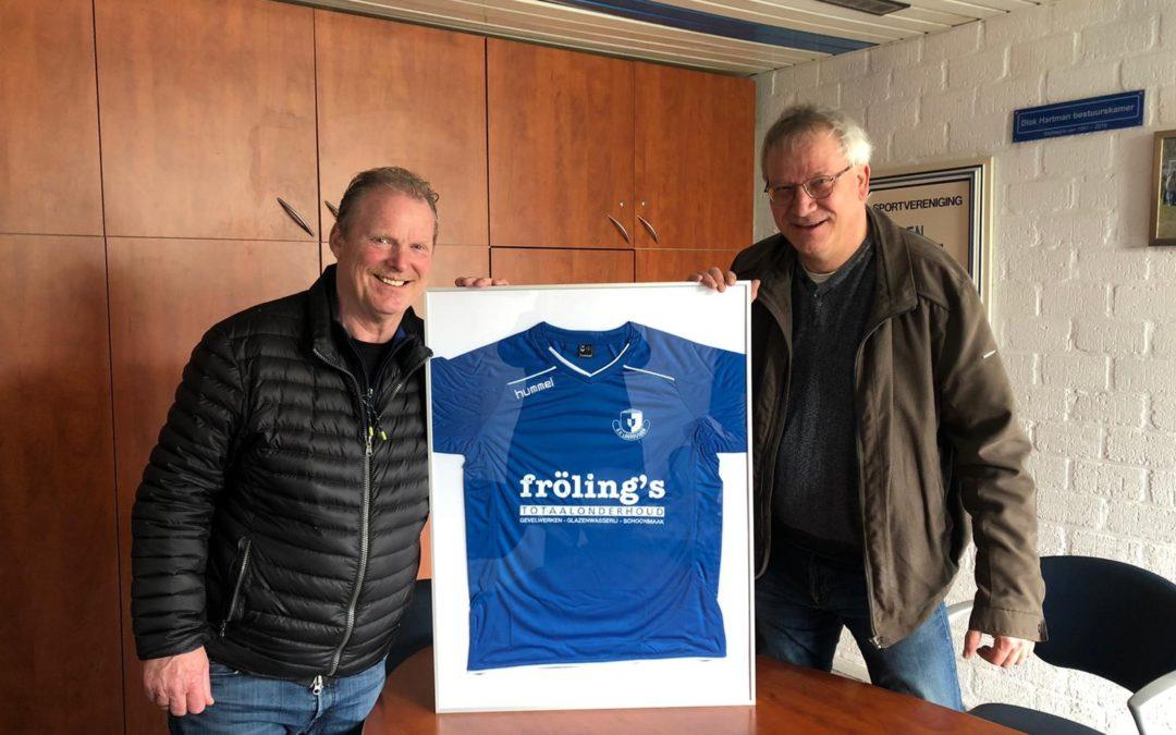 Nieuwe shirtsponsor voor S.V. Loosduinen
