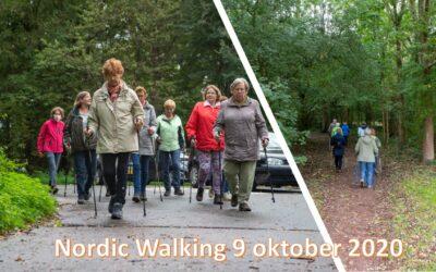 Fotoreportage Nordic Walking 9 oktober 2020