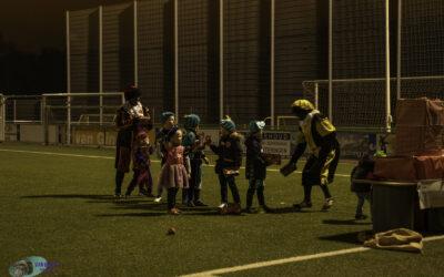 Voetbalpietentraining bij SV Loosduinen