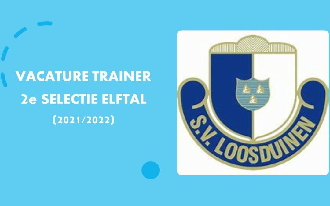 SV Loosduinen is op zoek naar trainer voor het 2e selectie elftal voor het seizoen 2021-2022