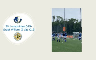 SV Loosduinen o19 – Graaf Willem II Vac o19    3-2 (3-1)