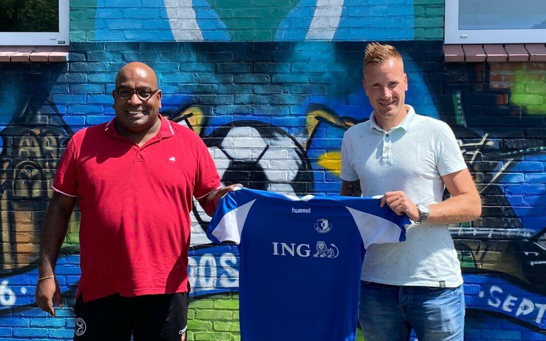 Rodney D Leon nieuwe trainer van S.V. Loosduinen JO19.