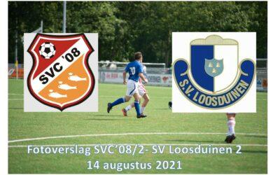 Foto verslag SVC'08/2 – SV Loosduinen 2 (14-8-2021)