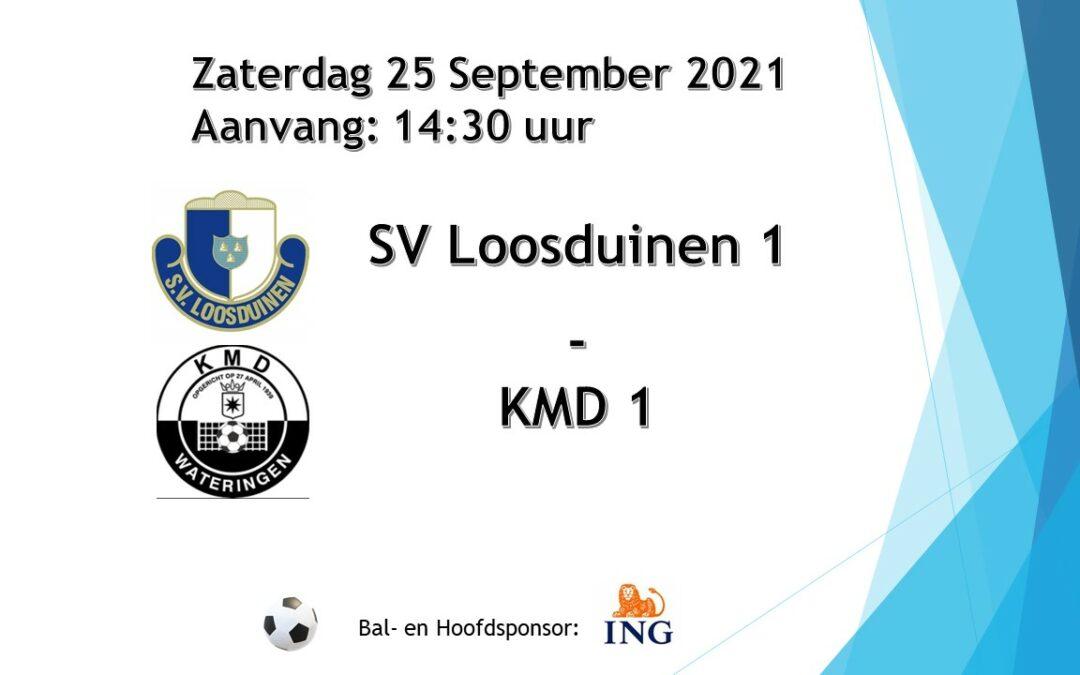 Voorbeschouwing S.V. Loosduinen vs. KMD