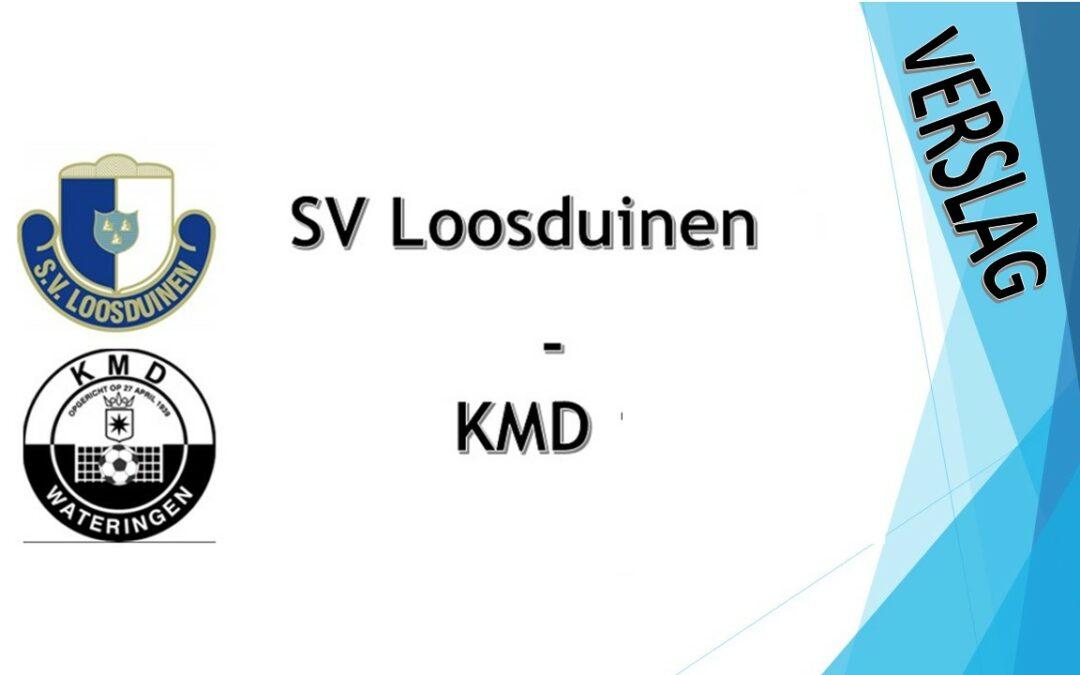 S.V. Loosduinen verliest openingsduel van KMD