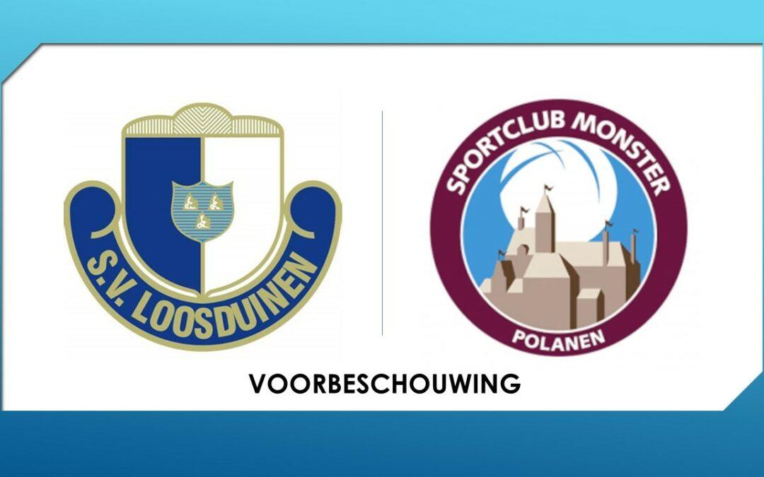 Voorbeschouwing S.V. Loosduinen 1 vs. S.C. Monster 1