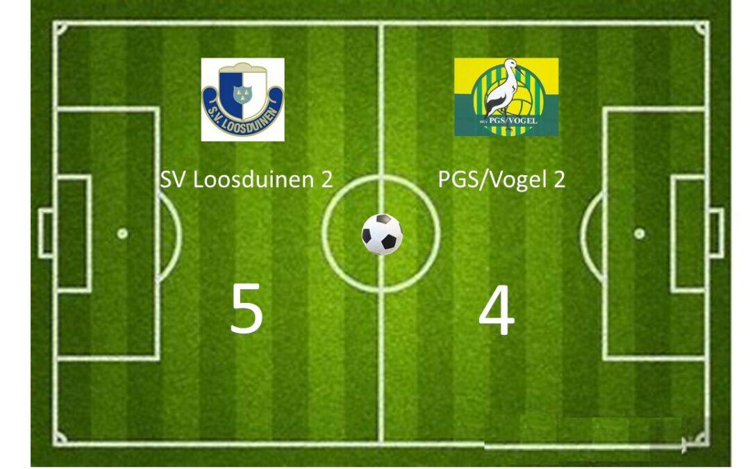 SV Loosduinen 2 – PGS Vogel 2